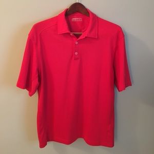 Nike Other - NIKE FITdry Red Polo