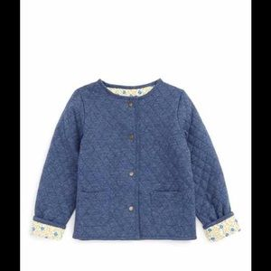 Mini Boden Other - Mini Boden Toddler Reversible Quilted Jacket