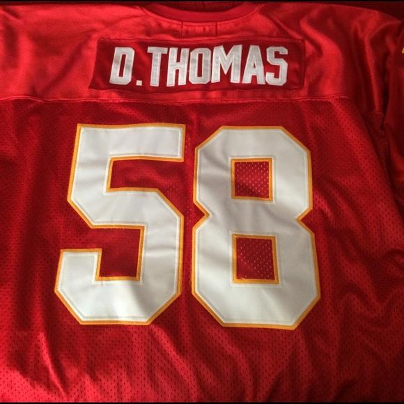 quite nice 85d2c 0a5c7 Kansas City Chiefs Derrick Thomas jersey