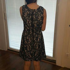 Dresses - Lace overlay dress