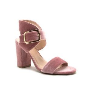 SHOEROOM21 boutique Shoes - Ladies high top backless chunky heels sandals.