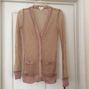 Rodarte Sweaters - RARE!!! Rodarte Lace Cardigan