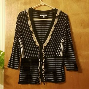CAbi Sweaters - Cabi 100% Cotton Unique & Lovely Cardigan