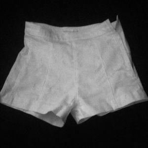 White shorts size 2/32 H&M