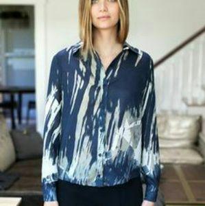 Emerson Fry Tops - NWOT Emerson Fry Silk Shirt