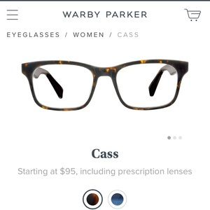 Warby Parker Accessories - Warby Parker 'Cass' Eyeglasses - brand new -