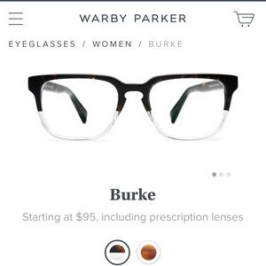 Warby Parker Accessories - Warby Parker 'Burke' Eyeglasses - brand new -