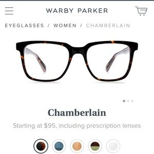 Warby Parker Accessories - Warby Parker 'Chamberlain' Eyeglasses - brand new