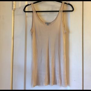 COS Tops - Cos sheer nude tank