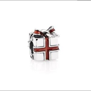 Pandora Jewelry - RETIRED Present Silver Pandora Charm
