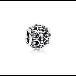 Pandora Jewelry - RETIRED A Cloud's Silver Lining Charm