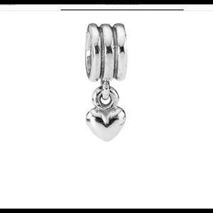 Pandora Jewelry - RETIRED Heart Pandora Charm