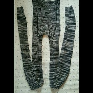 Missoni Accessories - Missoni Viscose Leggin Leggings Footless tights