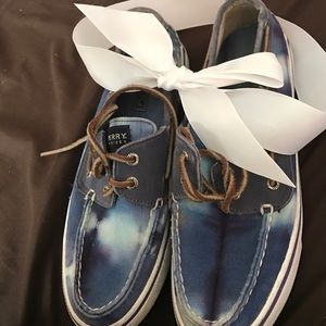 Sperry Shoes - Sperry Blue Dye shoes👌🏻