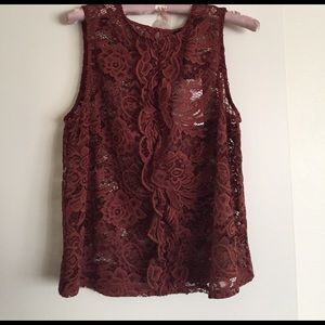Who What Wear Tops - Never worn lace top