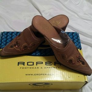 Roper Shoes - Western Mule Shoe