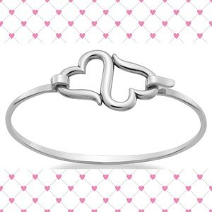 James Avery Accessories - Heart to Heart Hook-On Bracelet (Medium)