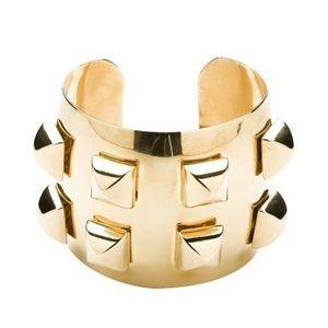 CC Skye Jewelry - CC Skye Gold Studded Cuff