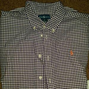 Mens Polo Ralph Lauren long sleeve button down