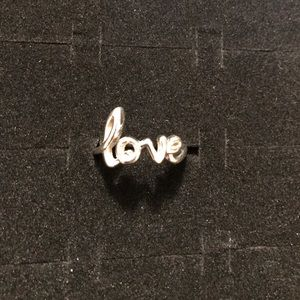 Park Lane Jewelry - LOVE sterling silver ring