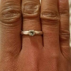 Tiffany & Co. Jewelry - Retired Tiffany & Co Aquamarine ring circa 2004