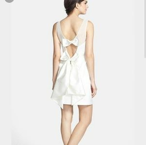 ERIN by Erin Fetherston Dresses & Skirts - ERIN erin fetherston'Winona' Bow Detail Peau de So