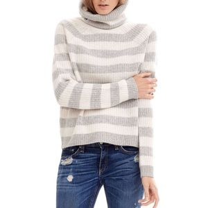 naked cashmere  Sweaters - Naked cashmere striped turtle neck willow sweater