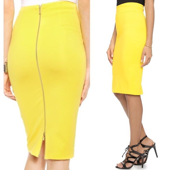 c0366b6a40 5th and mercer Dresses & Skirts - 5th and mercer pencil skirt with zip  detail