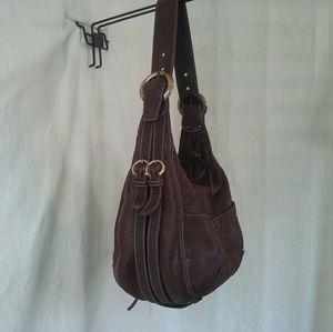 Francesco Biasia Handbags - Francesco Biasia Brown leather hobo bag