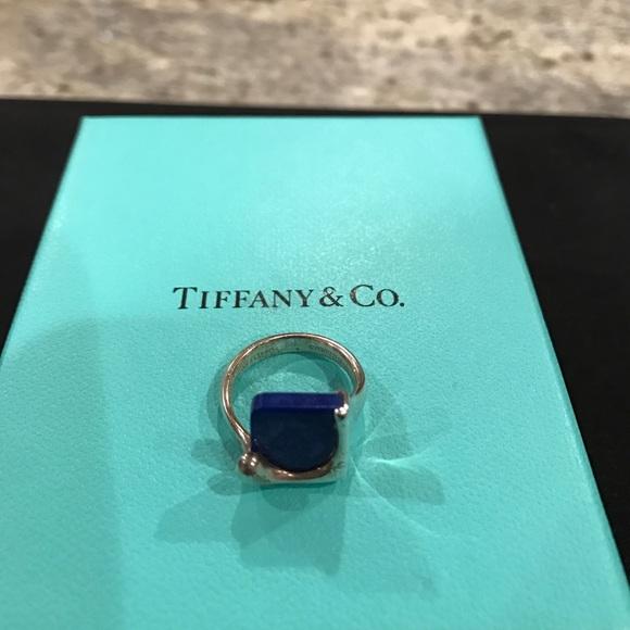 1e5554e67 Tiffany Elsa Peretti Lapis Lazuli ring. M_58d076b97fab3a0b45026842
