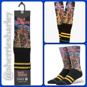 Stance Other - Iron Maiden Men's Socks by Stance Size Large 9-13