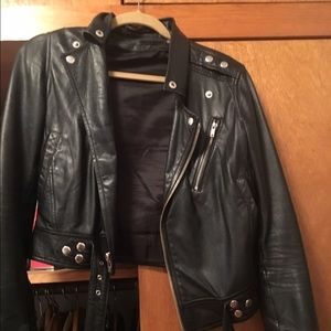 BLK DNM Other - BLK Leather Moto Jacket