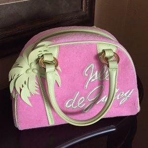 Handbags - Vintage Juicy Couture  velour bowler satchel