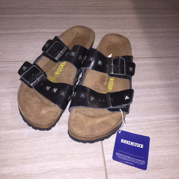85e6f2a160ad Birkenstock Arizona leather studded sandals sz 40