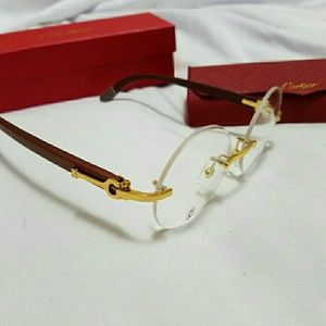 Cartier Other - NEW CARTIER RIMLESS GLASSES