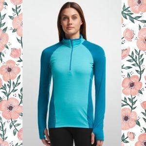 Icebreaker Sweaters - Icebreaker💙Merino Wool Blue Lightweight 200GT Zip