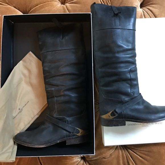 Nwot Deluxe Brand Tall Riding Boots