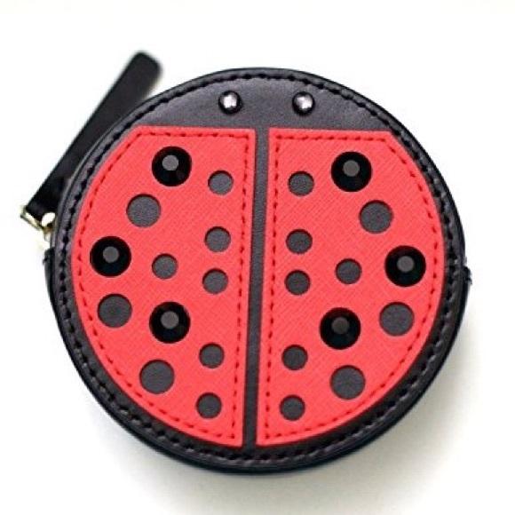 66ec4eacab89 kate spade Bags | Turn Over A New Leaf Ladybug Coin Purse | Poshmark