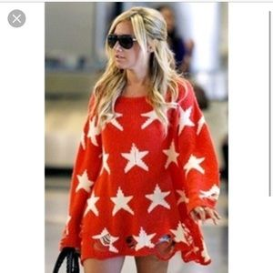 Wildfox Couture Sweaters - Wildfox Couture Seeing Stars- BRAND NEW Sz. S