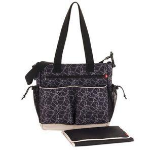 Skip Hop Handbags - Spark by Skip Hop Diaper Bag - Squiggle
