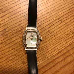 Croton Jewelry - Croton 14k yellow gold, diamond watch