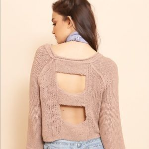 Free People Endless Stories Knit Sweater