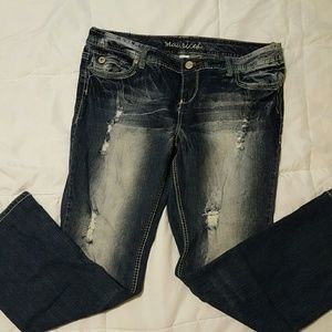 Maurices Denim - distressed jeans