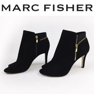 Marc Fisher Shoes - 🔥ALLBOOTS$35💸2x$49🔥MARC FISHER SUEDE PEEP TOE