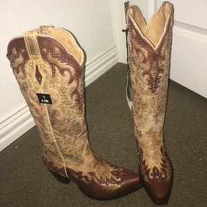 STERLING SILVER BOOTS! BRAND NEW with tags.