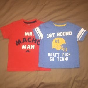 Carter's Other - Boys 24 month Carters t-shirts x 2