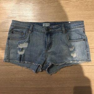 RVCA Pants - RVCA Denim shorts