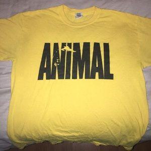 Animal Other - ANIMAL• Yellow Tee• Sz M•