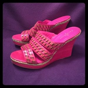 Cole Haan Shoes - Cole Haan Wedge Sandals