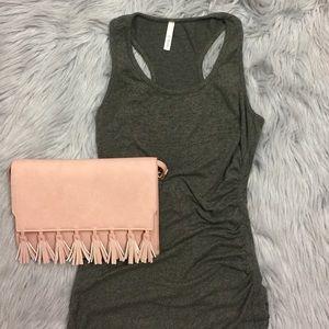 A+ Ellen Dresses & Skirts - Olive Green Midi Tank Dress